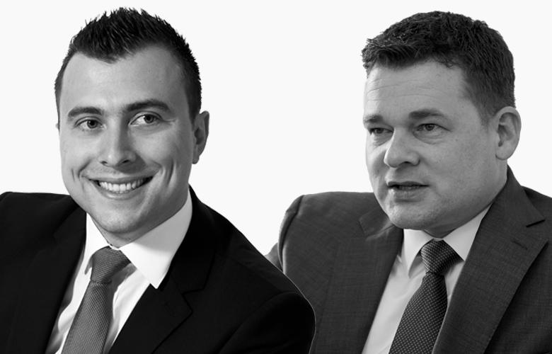 Die Leiter der Gesellschaft für Qualitätsentwicklung in der Finanzberatung (QIDF): Markus Gauder und Kai Fürderer