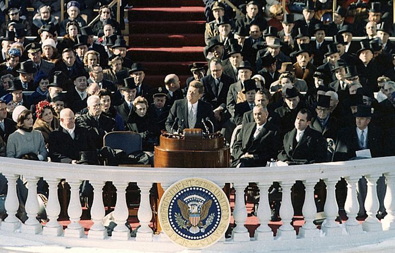 Amtsantrittsrede von John F. Kennedy am 20. Januar 1961