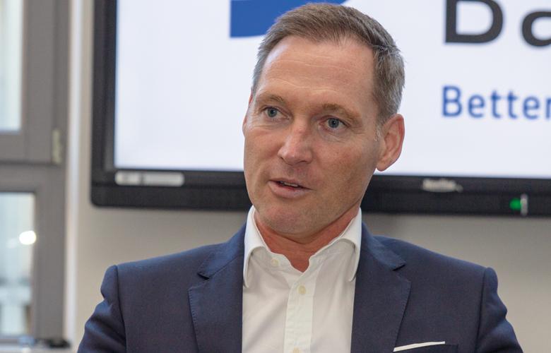 Oliver Lüsch ist Vorstandsmitglied der BBBank.