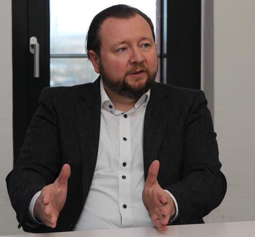 Ulf Meyer, Geschäftsführer der SWK Bank, im Interview mit Thorsten Hahn