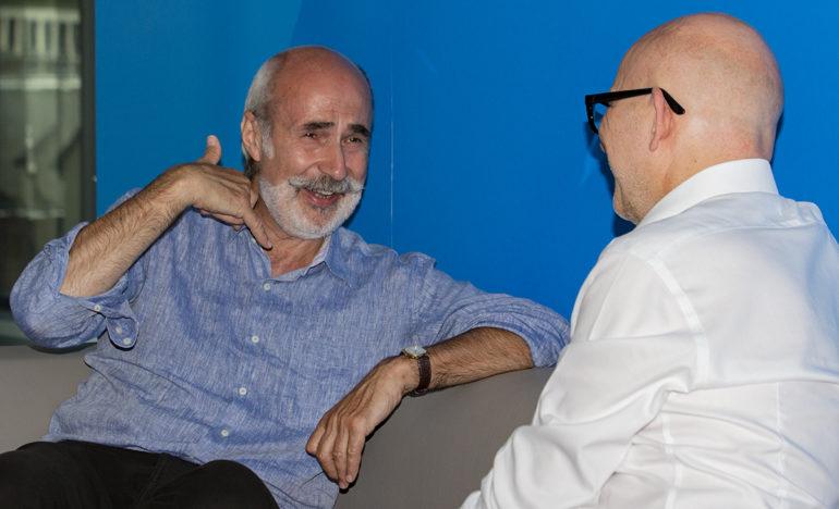 Oscar Jazdowski und Thorsten Hahn