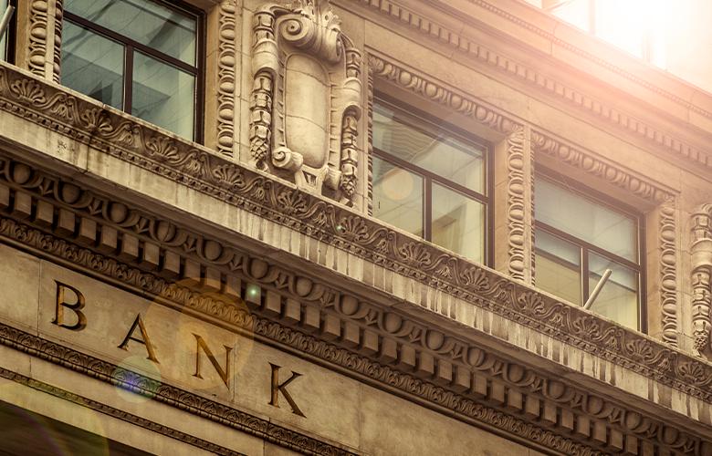 Fassade von PSD-Banken