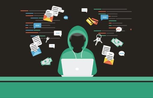 Hacker greift mit Cyberattacken Banken an