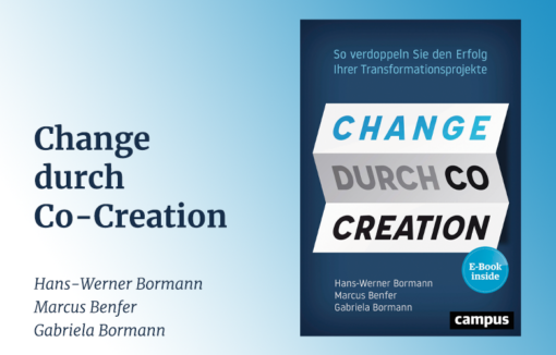 Buchcover von Change durch Co-Creation