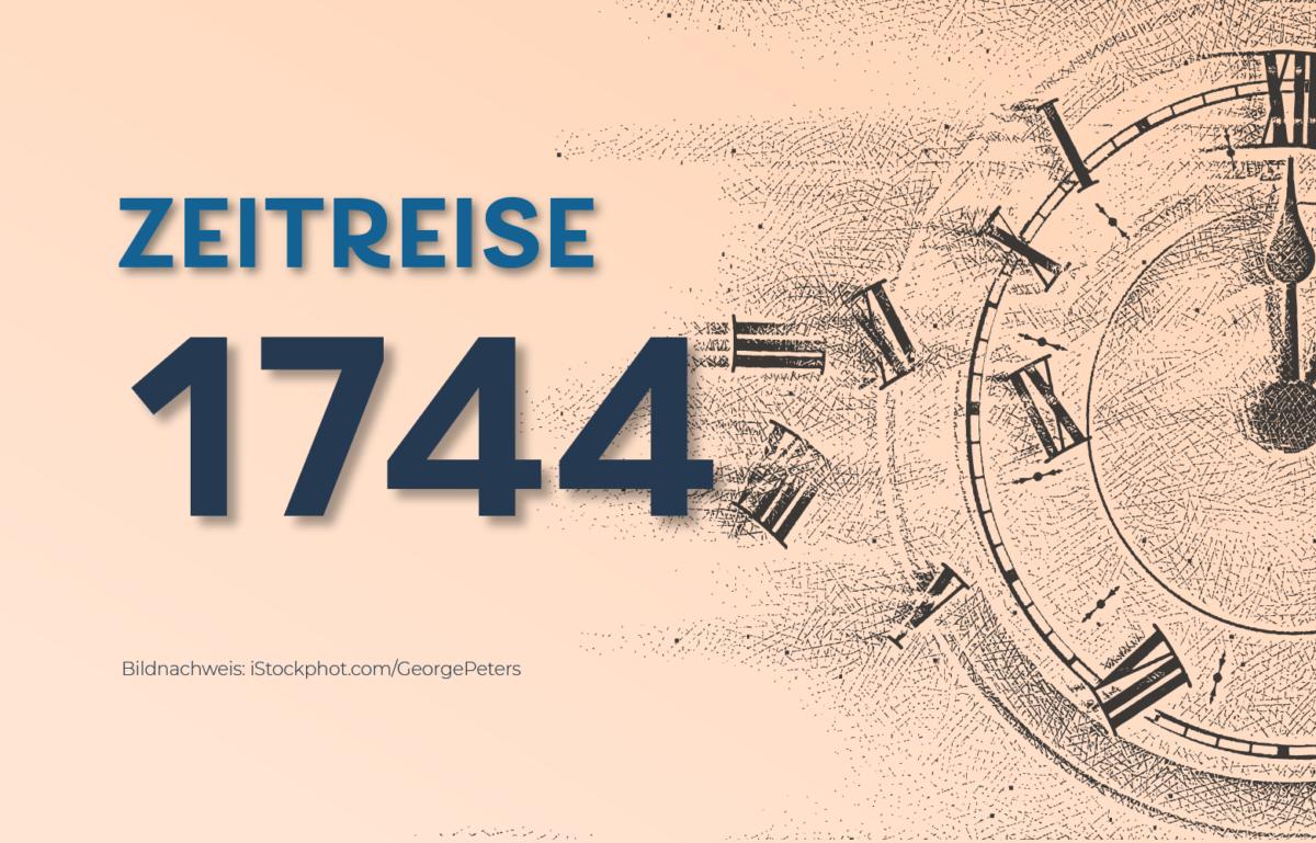 Grafik zur Zeitreise 1744: Geburt des Mayer Amschel Rothschild