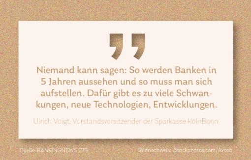 Grafik Kasensturz Zitat von Ulrich Voigt, Sparkasse KölnBonn