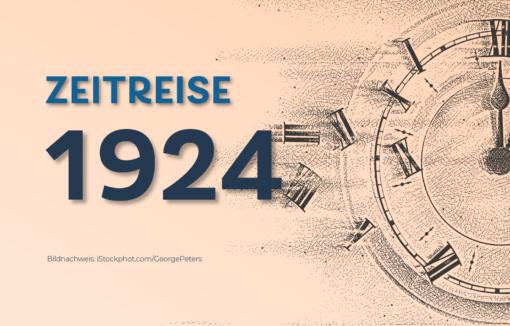 1924: Inflation vorbei, die Papiermark hat ausgedient
