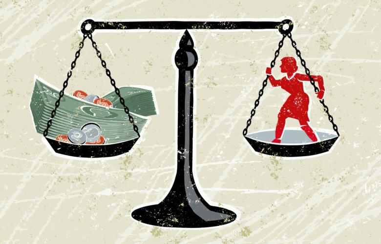 "Grafik zum Aktionstag ""Equal Pay Day"""