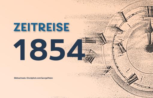 Grafik zum Daily Zeitreise, die Frankfurter Bank wird gegründet
