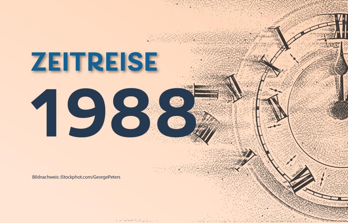 """Gründung der Ökobank 1988. In den 1980er-Jahren war bei Banken nicht immer alles """"ökö"""". Die alternative Ökobank sollte das ändern, Bild zum Daily #Zeitreise"""