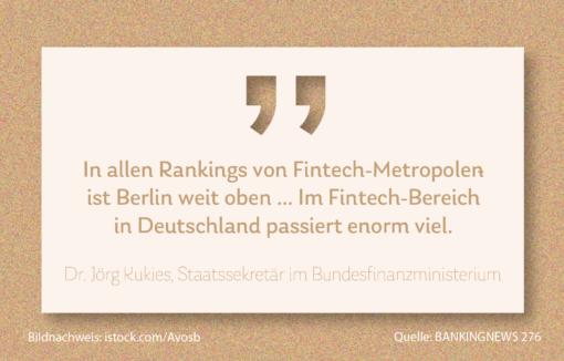 Deutschlands Fintechs: Hier ist enorm viel passiert, Kassensturz zum Zitat von Finanzstaatssekretär Jörg Kukies