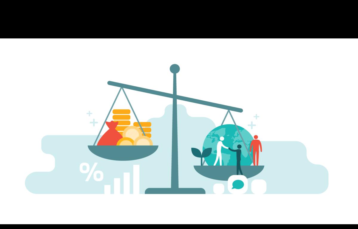 Bild zum Beitrag Unabhängig? BlackRock erstellt Studie für die EU,Waage, die Nachhaltigkeit gegen Geld aufwiegt