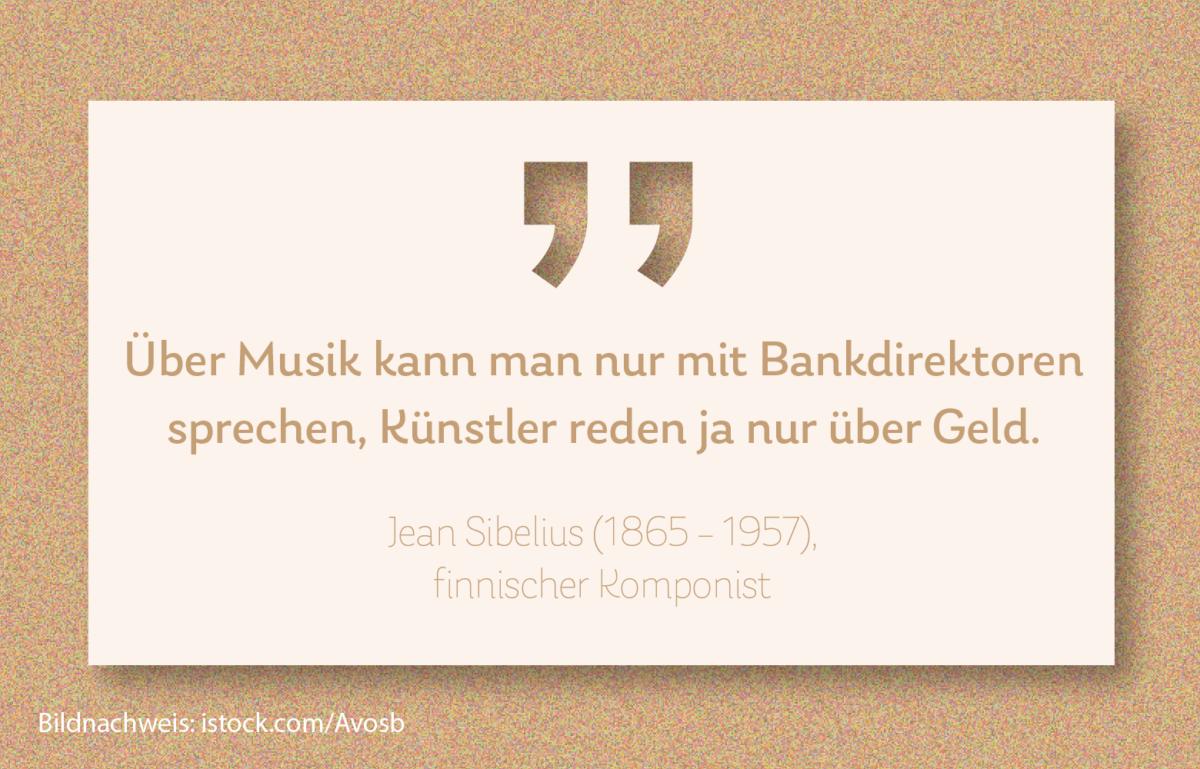 Musiknoten und Banknoten sind selten im Gleichklang, sagt BANKINGNEWS-Chefredakteur Thomas Friedenberger.