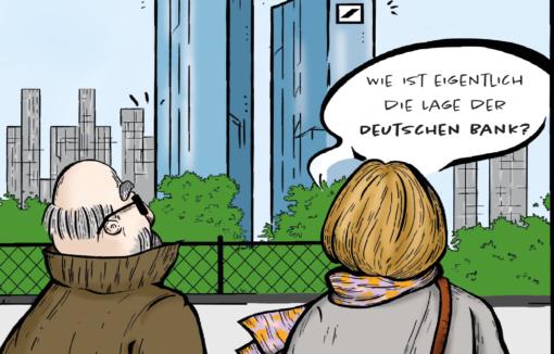 Glosse: Nach der Stiftung Preußischer Kulturbesitz soll nun auch die Deutsche Bank aufgelöst werden.