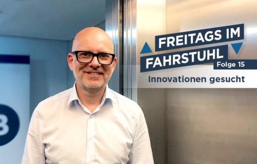 Dieses Mal sucht Thorsten Hahn vom BANKINGCLUB Innovationen.