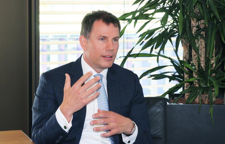 Frank Vogel von der BNP Paribas im Gespräch mit der BANKINGNEWS