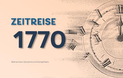Zeitreise 1770: Der Geburtstag von Joseph Mendelssohn