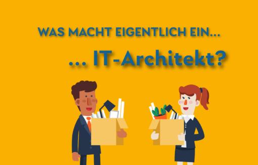 Architekten kennt jeder, aber was macht eigentlich ein IT-Architekt genau? Und wie sehen die Karrierechancen in der Finanzbranche aus?