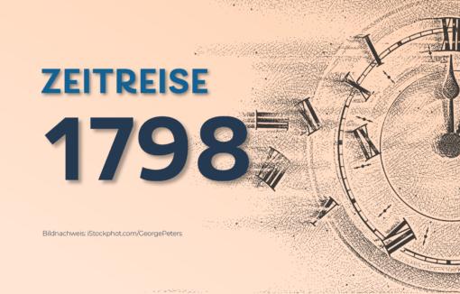 Am 3. August 1798 ist Wilhelm Ludwig Deichmann geboren, ein rheinischer Unternehmer und Bankier.