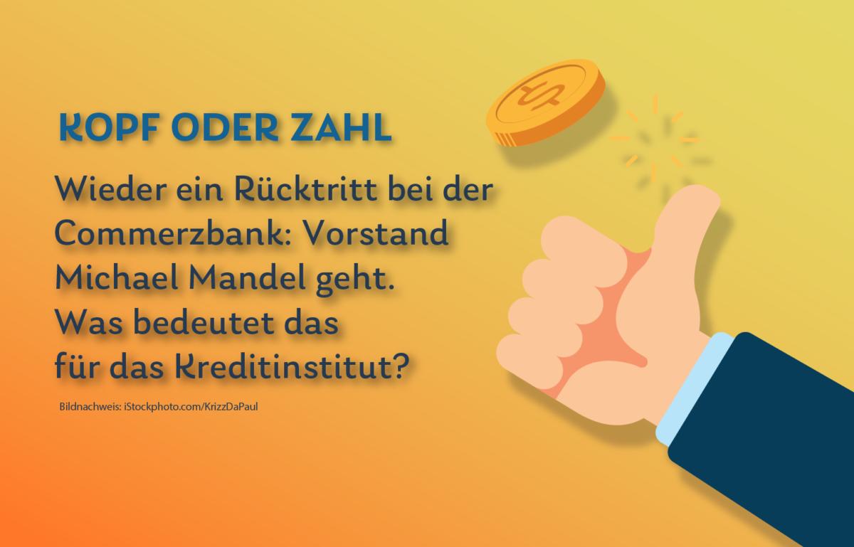 Michael Mandel verlässt die Commerzbank