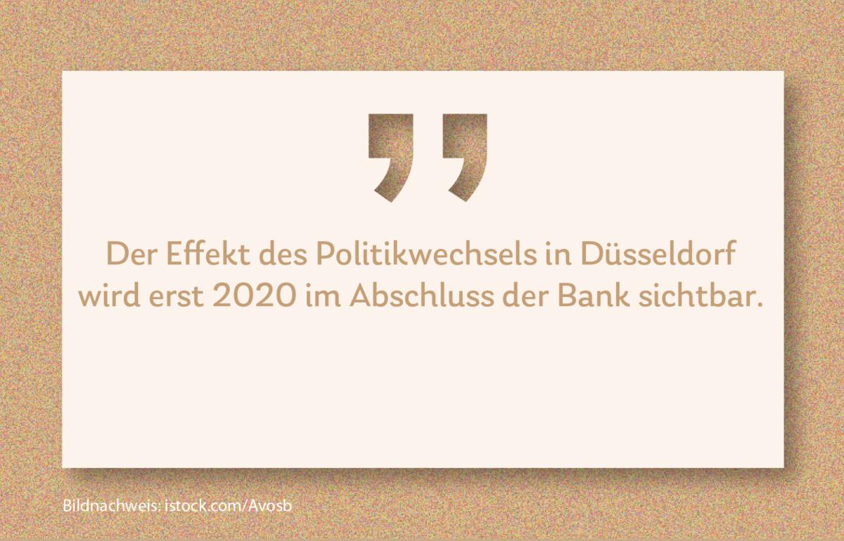 Oberbürgermeisterwahl in Düsseldorf. Aufatmen bei der Stadtsparkasse?