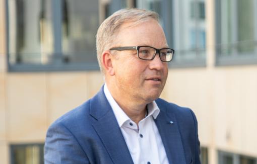 Bei der Volksbank in der Ortenau steht eine große Fusion an, Markus Dauber im Interview