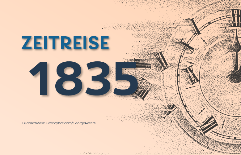 1835: Gründung der Hypo-Bank