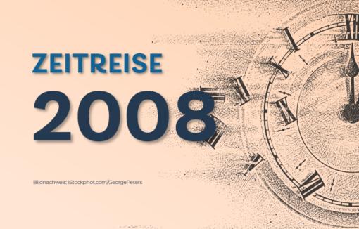 2008: Die EZB senkt den Leitzins