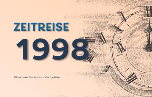 1998 Fusionieren die Deutsche Bank und Bankers Trust zur größten Bank der Welt