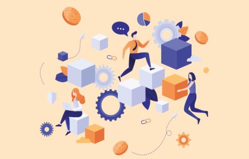 Blockchain, Prozessmanagement, Optimierung von Prozessen, Finanzbranche