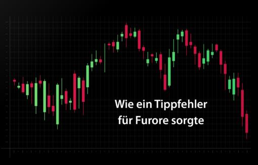 Tippfehler an der Tokyo Stock Exchange, Kursentwicklung, Börse