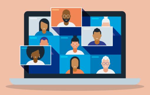 Virtuelle Vertreterversammlung, digitale Formate, Corona-Pandemie, Videokonferenzen, VRNetworld