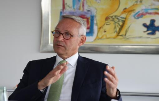 Vorstände im Gespräch, Harald Schmitz, Bank für Sozialwirtschaft