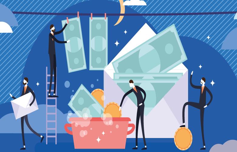 Geldwäsche, Prävention, Banken, Finanzbranche, Schutz