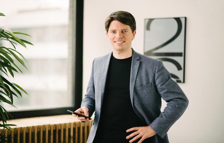 Georg Hauer, General Manager DACH und Nordeuropa bei N26, über Wachstumspläne, Kooperationen, neue Geschäftsfelder – und worüber er sich am meisten freut und ärgert, wenn er selbst N26 nutzt.