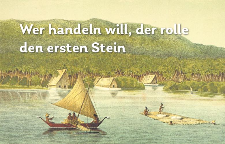 Fun Fact Steingeld Rai Yap Insel