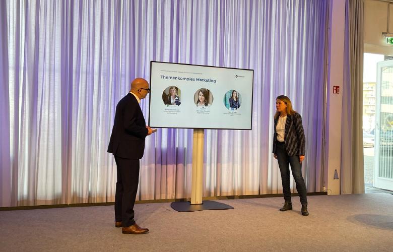 Marketing und Kommunikation als eine Einheit denken, Alexandra Vitt-Krauß, Thorsten Hahn, Bankingclub-live