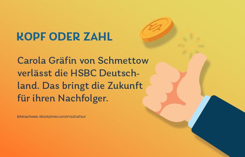 HSBC-Chefin Carola Gräfin von Schmettow geht