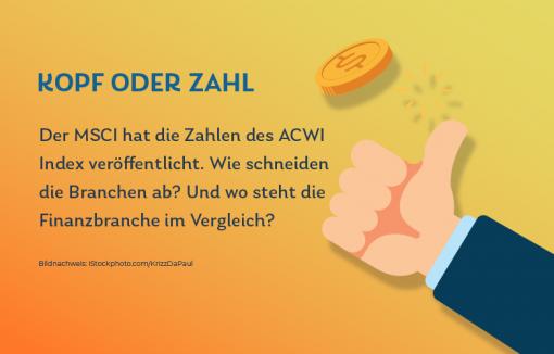 Finanzbranche MCSI ACWI