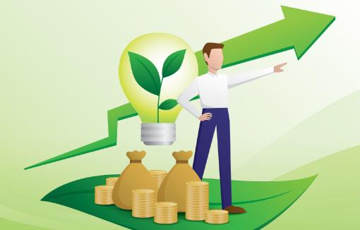 Mann möchte sein Geld besser anlegen, Nachhaltigkeit, richtige Kommunikation