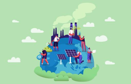 CO2-Fußabdruck Nachhaltigkeit GLS-Bank