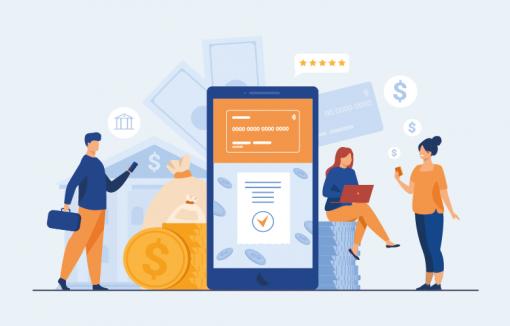Banken Fintechs Startups Editorial