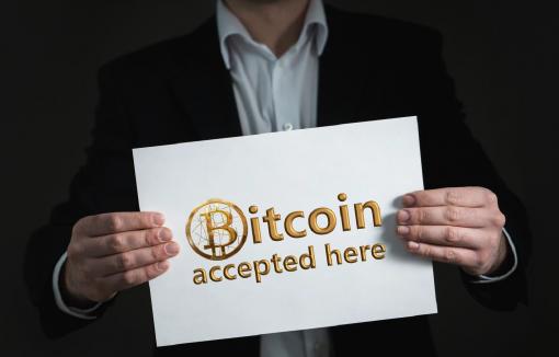 Kryptowährung als Zahlingsmittel akzeptiert, Bitcoin