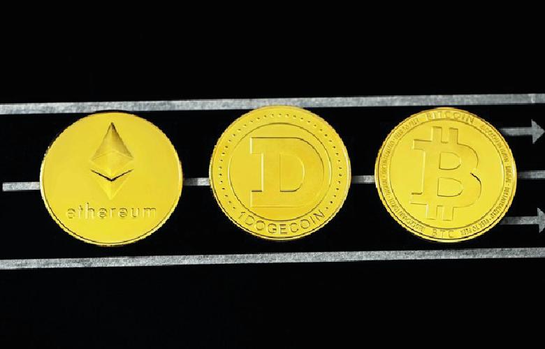 Kryptowährungen, Bitcoin, Etherum, digitales Geld, Blockchain, Kryptos