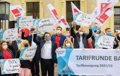 Gewerkschaften Voeb Tarifverhandlungen