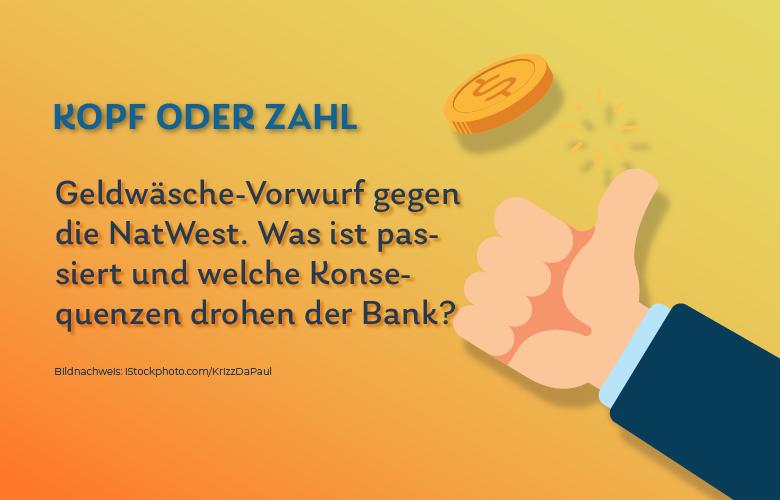 Geldwäsche NatWest- Schuldbekenntnis
